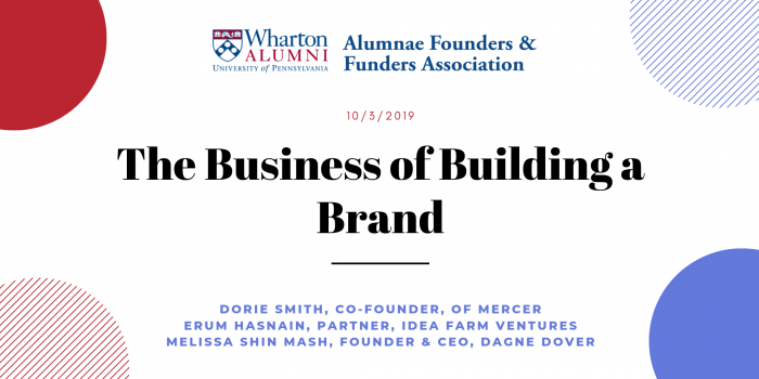 The Business of Building a Brand
